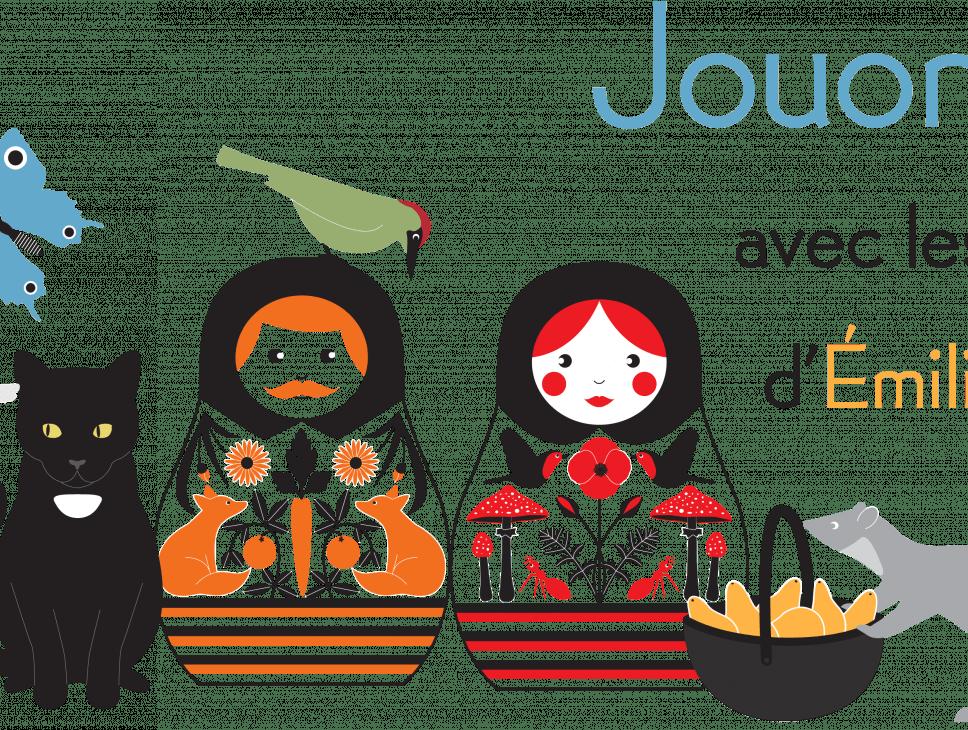 EXPOSITIONS -JOUONS ! AVEC LES LIVRES D'ÉMILIE VAST