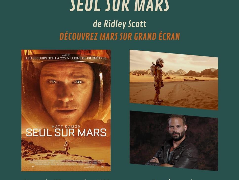 PROJECTION DE 'SEUL SUR MARS' ANIMÉE PAR UN YOUTUBEUR DE SF