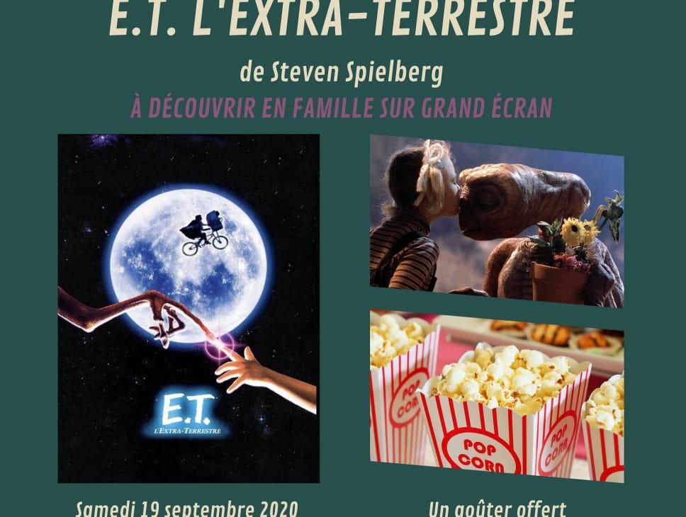 CINÉ-GOÛTER : E.T. L'EXTRA-TERRESTRE