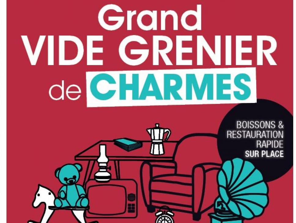 GRAND VIDE-GRENIER DE CHARMES