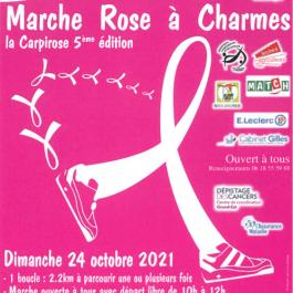 MARCHE ROSE À CHARMES - LA CARPIROSE 5ÈME ÉDITION