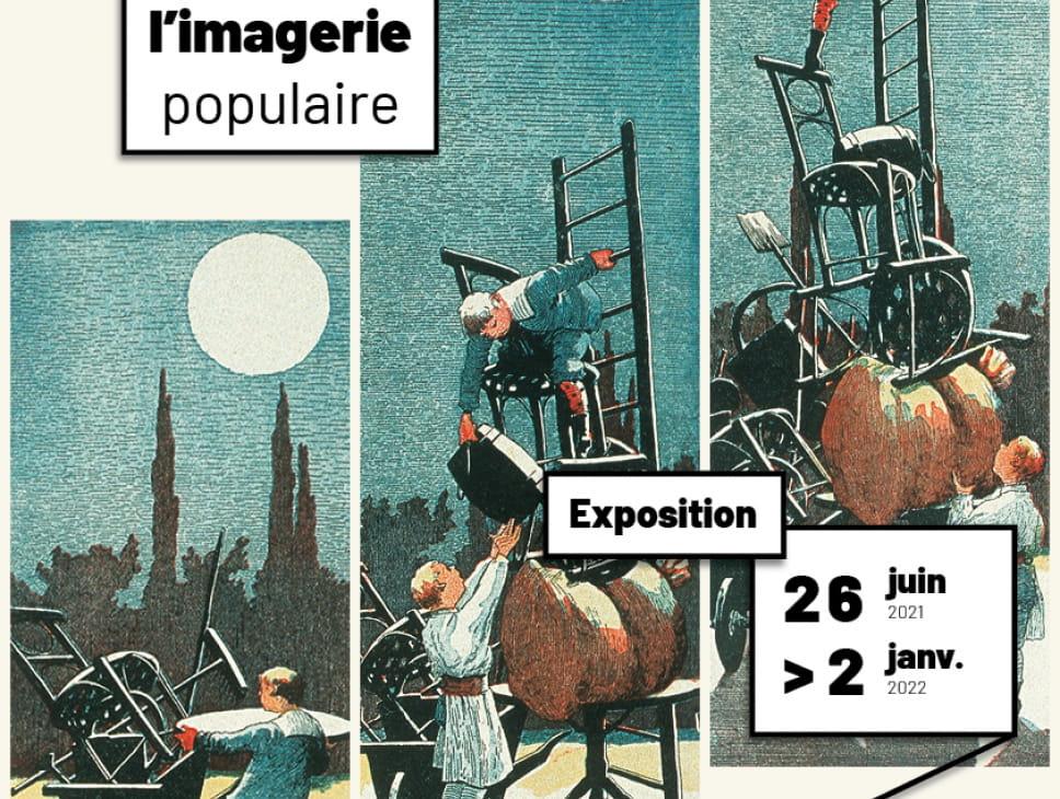 AUX ORIGINES DE LA BANDE DESSINÉE, L'IMAGERIE POPULAIRE