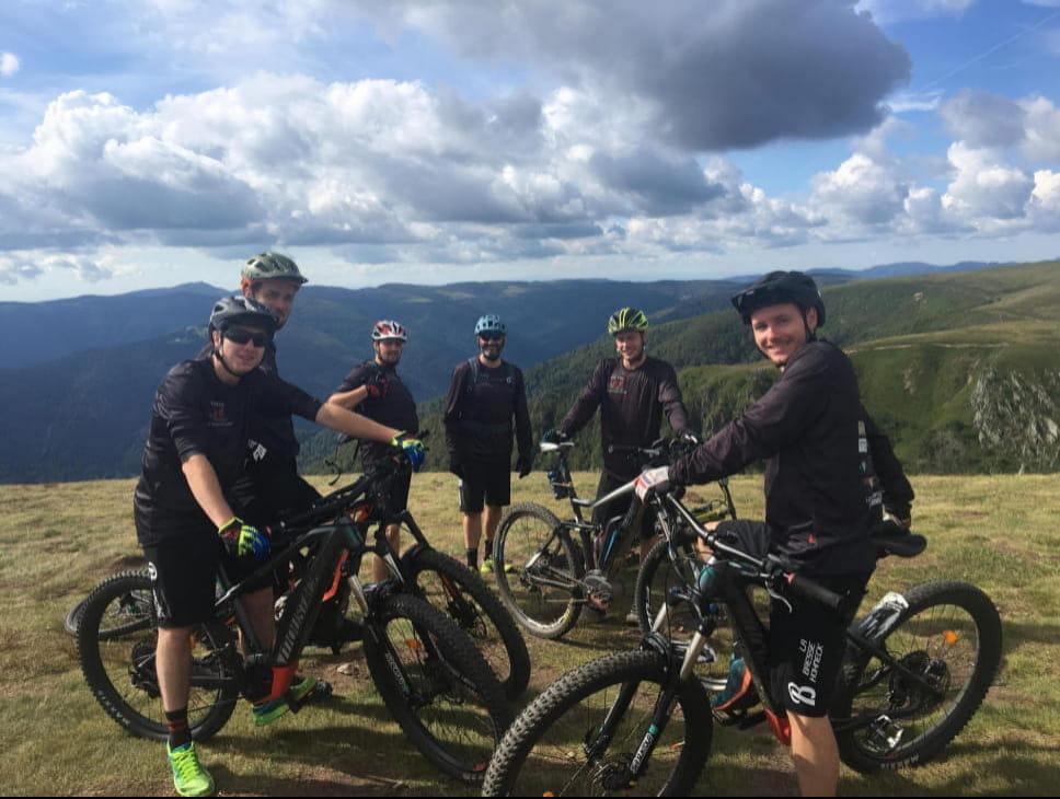 TOUR DES CHAUMES CYCLISTE