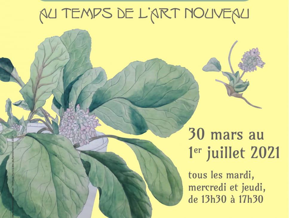 L'ÉCOLE MUNICIPALE DE DESSIN DE 1900 : AU TEMPS DE L'ART NOUVEAU