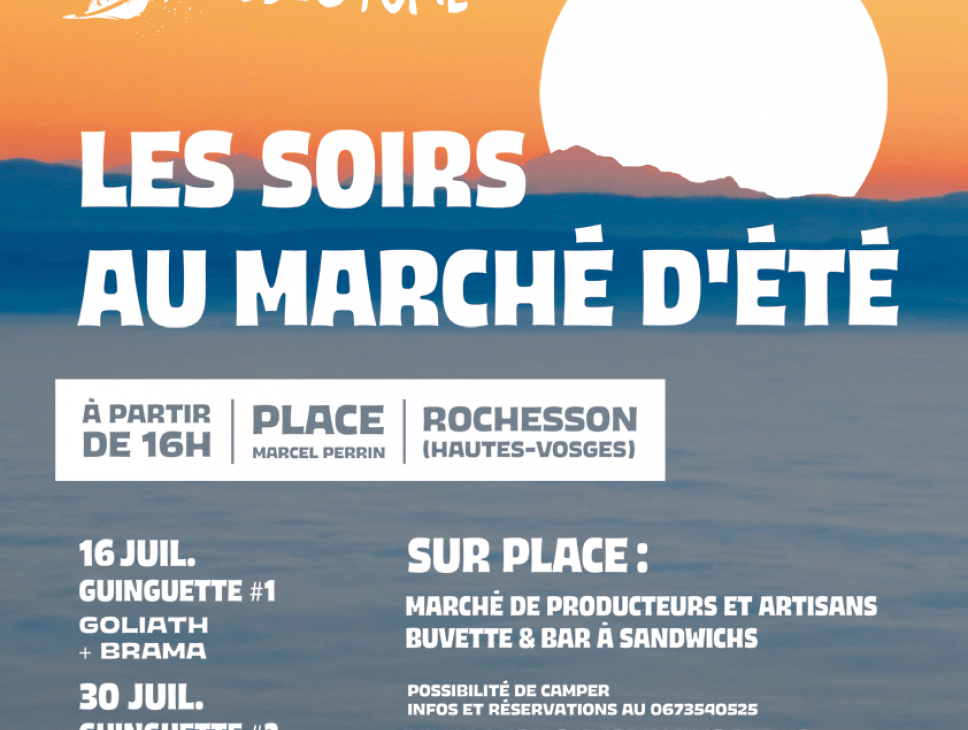 GUINGUETTE #3 - LES SOIRS AU MARCHÉ D'ÉTÉ