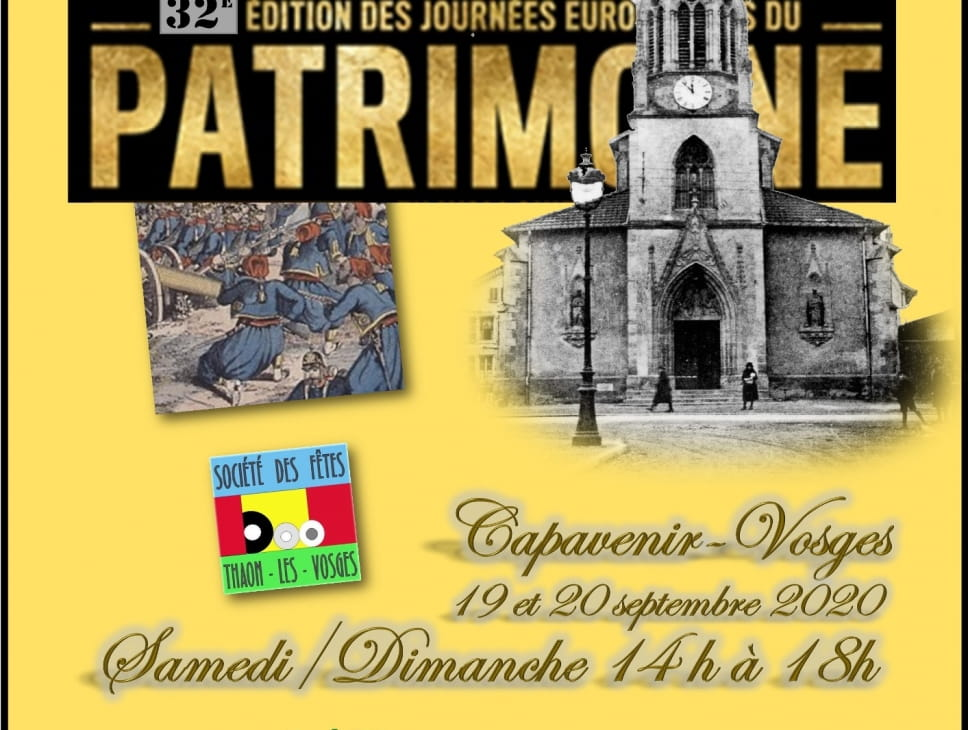 JOURNÉE DU PATRIMOINE : VISITE COMMENTÉE ET ILLUSTRÉE DE L'ÉGLISE ST-BRICE DE THAON-LES-VOSGES