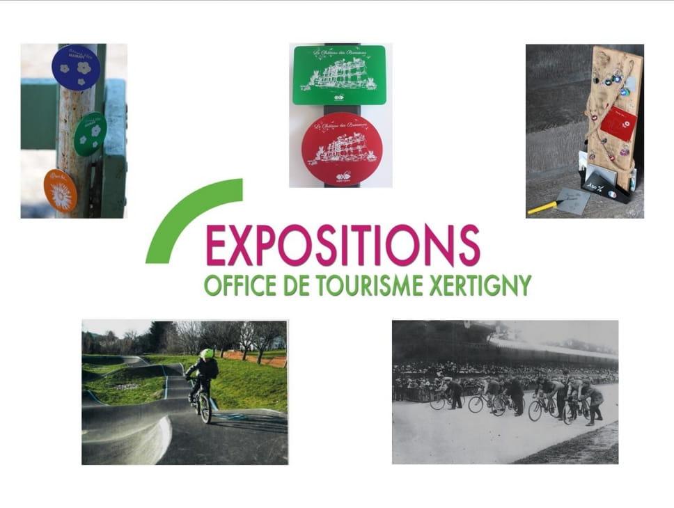 EXPOSITION : LE SPORT À XERTIGNY & CRÉATIONS SUR-MESURE