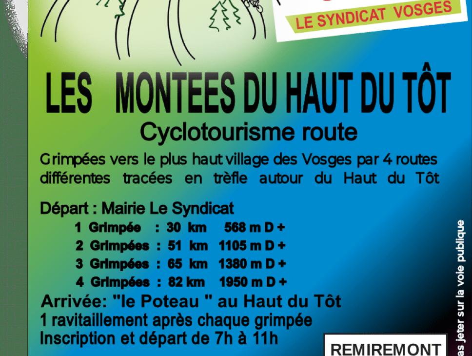 LES MONTÉES DU HAUT DU TOT - CYCLOTOURISME