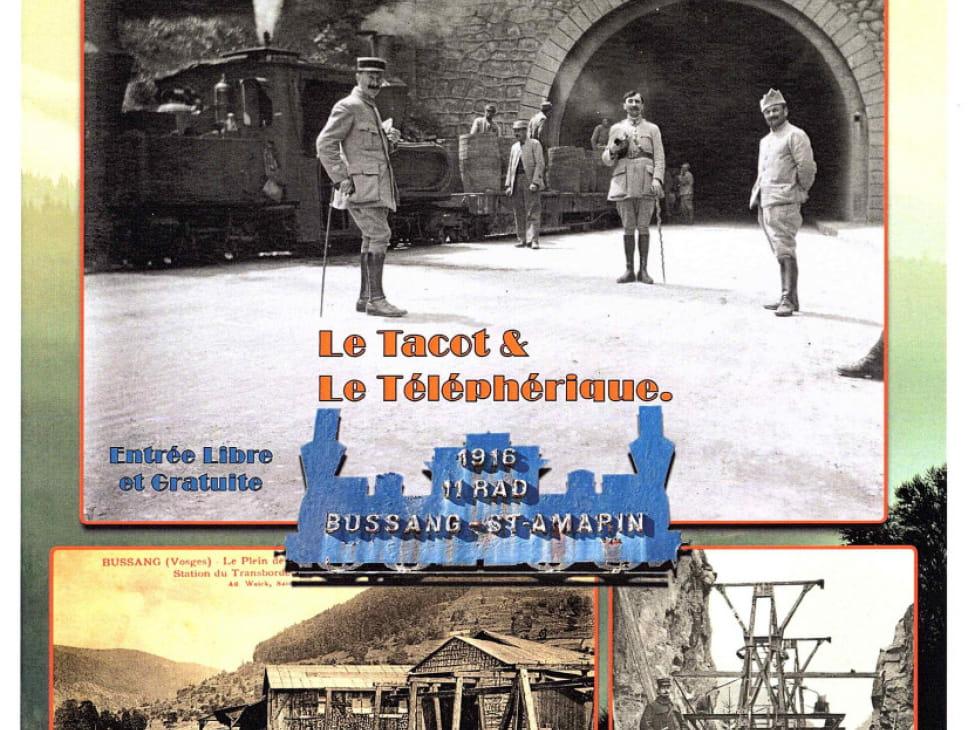 EXPOSITION : LE TACOT ET LE TÉLÉPHÉRIQUE