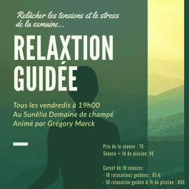 SÉANCE DE RELAXATION GUIDEE