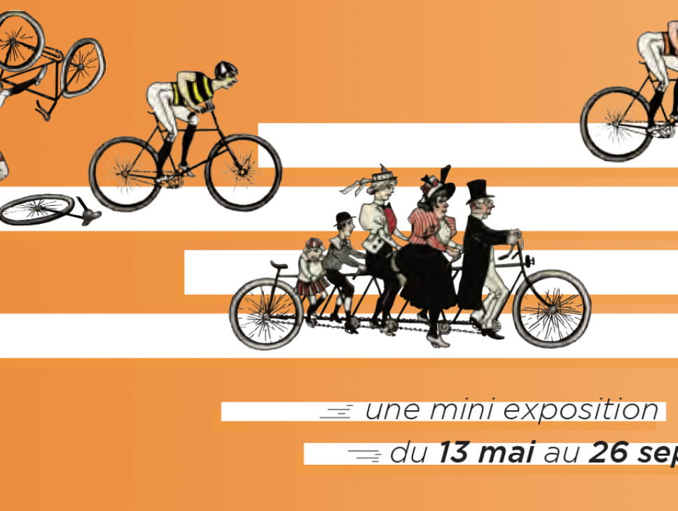 EXPOSITION - A BICYCLETTE !