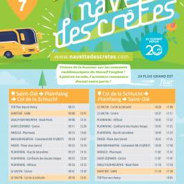 INSPIRATIONS NAVETTE DES CRETES