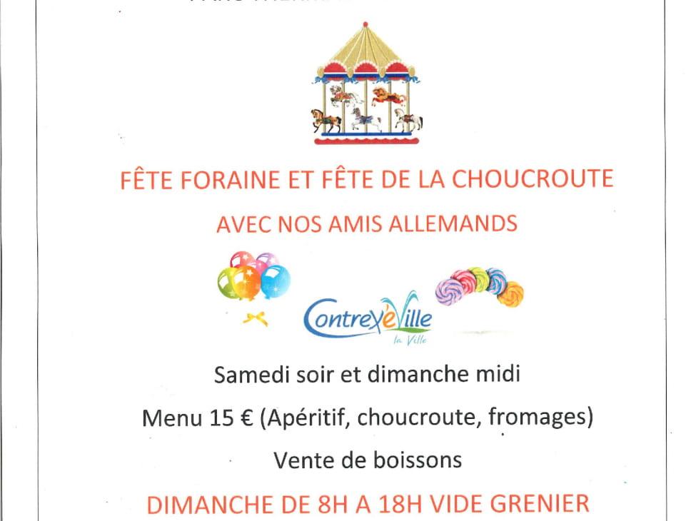 FÊTE PATRONALE, FÊTE DE LA BIÈRE ET VIDE-GRENIER