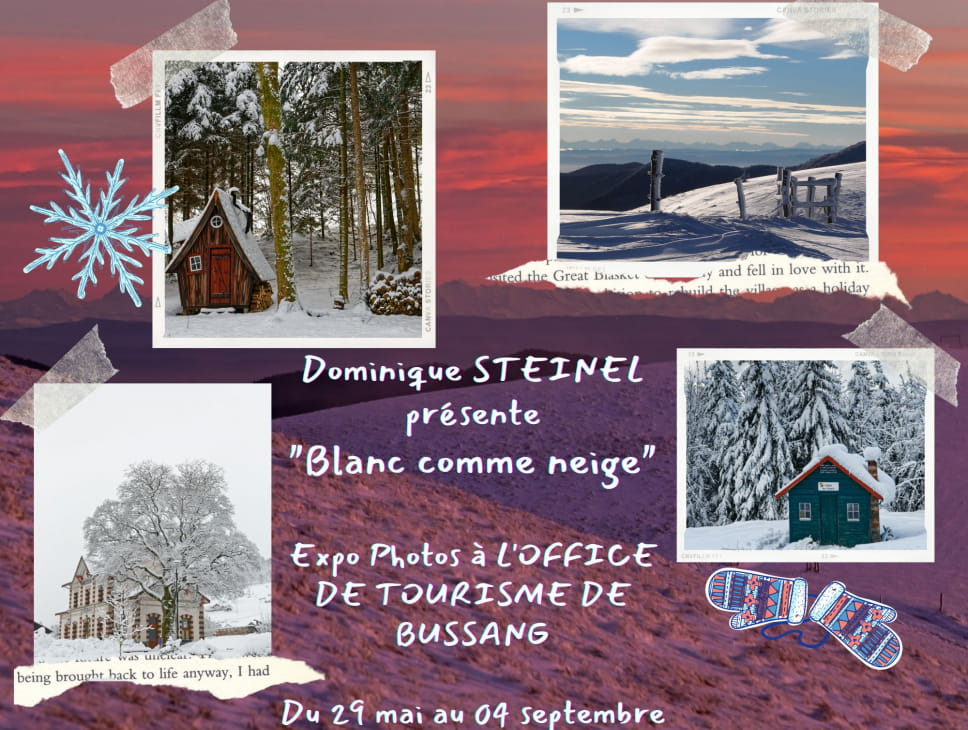 EXPOSITION : BLANC COMME NEIGE