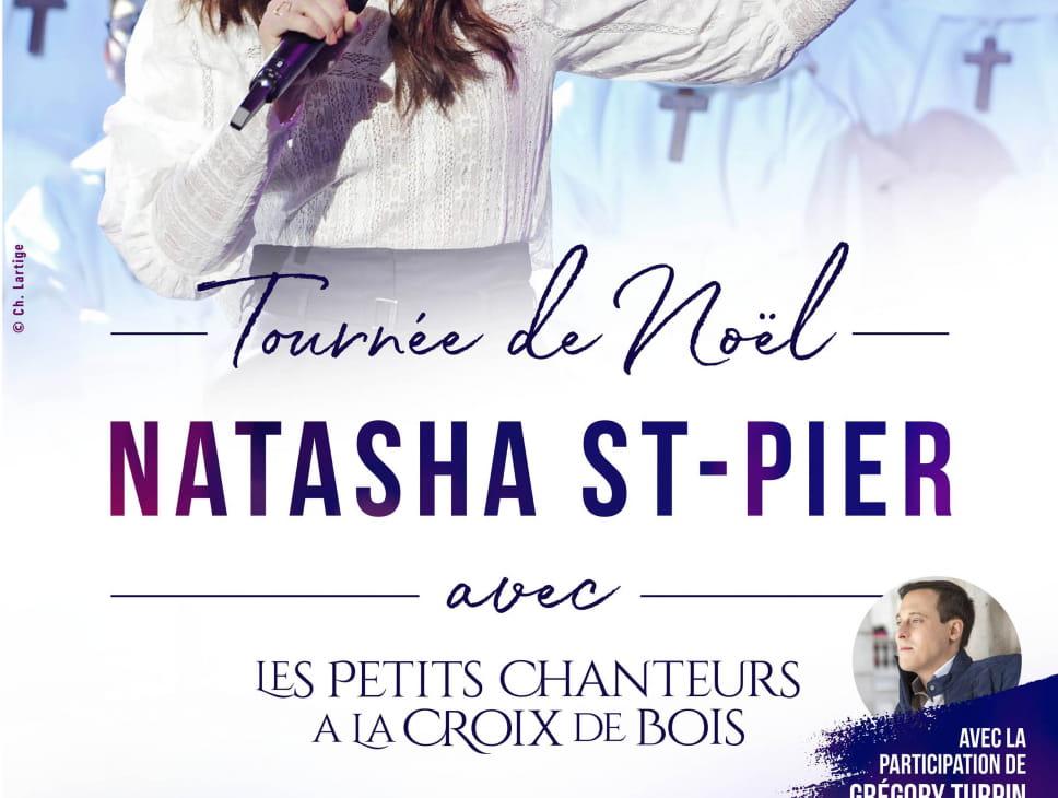 NATASHA SAINT-PIER AVEC LES PETITS CHANTEURS A LA CROIX DE BOIS