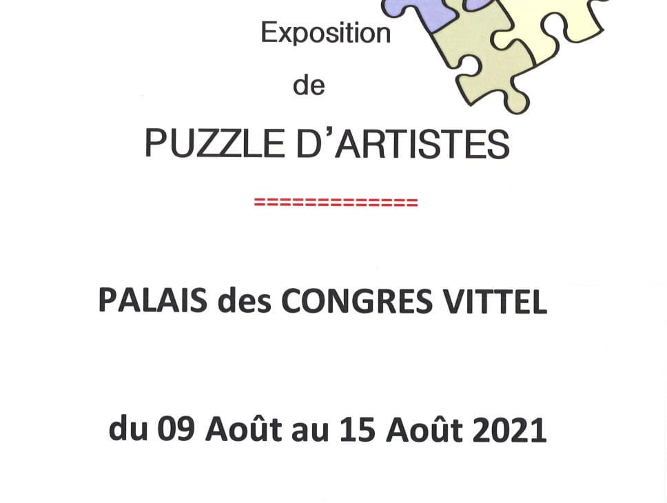 EXPOSITION DE PUZZLE D'ARTISTES