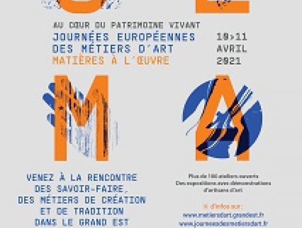 JOURNEES EUROPEENNES DES METIERS D'ART