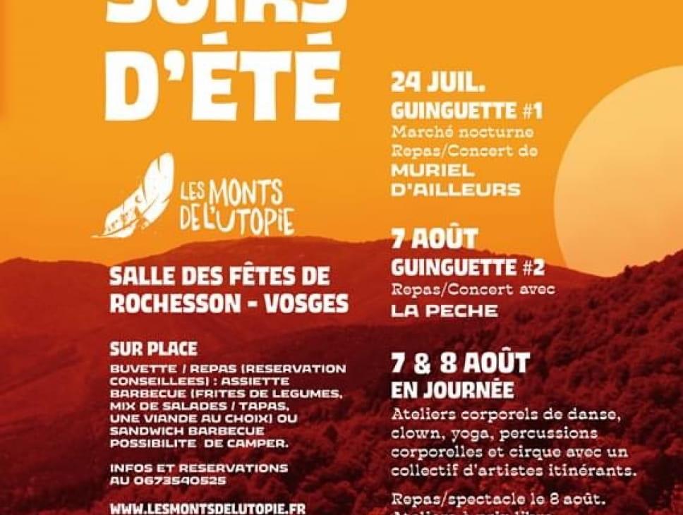 LES SOIRS D'ÉTÉ GUINGUETTE #1