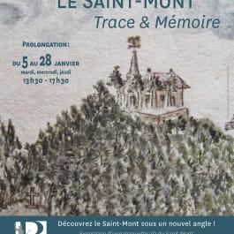 1400 ANS DU SAINT-MONT : EXPOSITION 'LE SAINT-MONT : TRACE & MÉMOIRE', 2