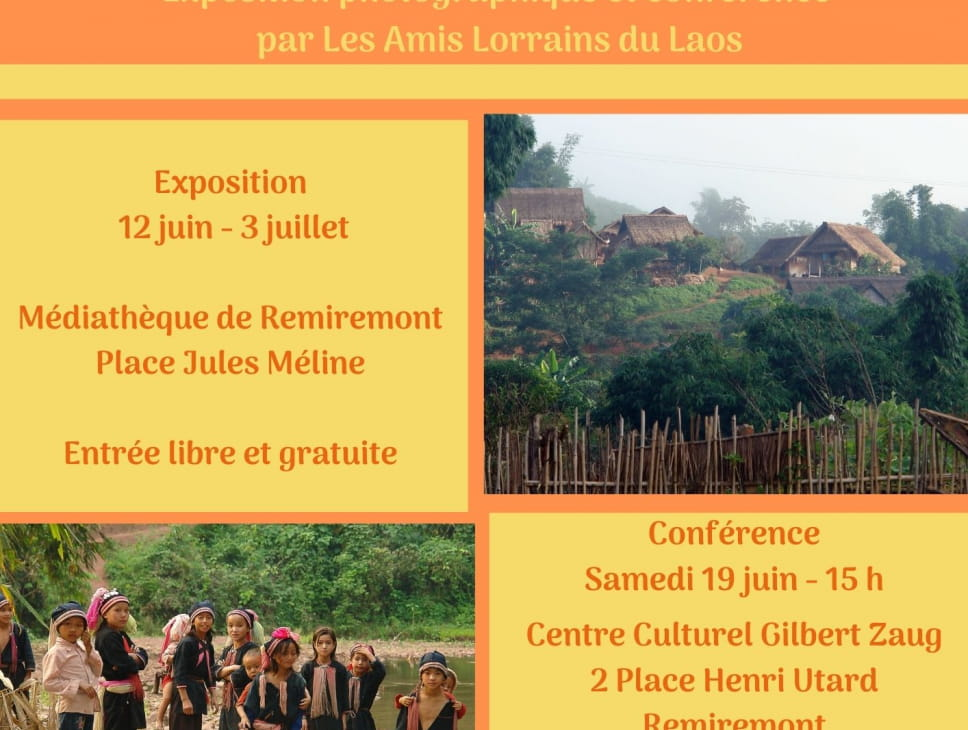 EXPOSITION 'LA VIE DES FEMMES DANS LES VILLAGES DU NORD LAOS'