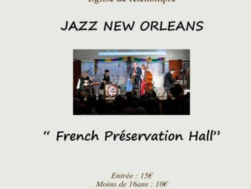 CONCERT FRENCH PRESERVATION HALL