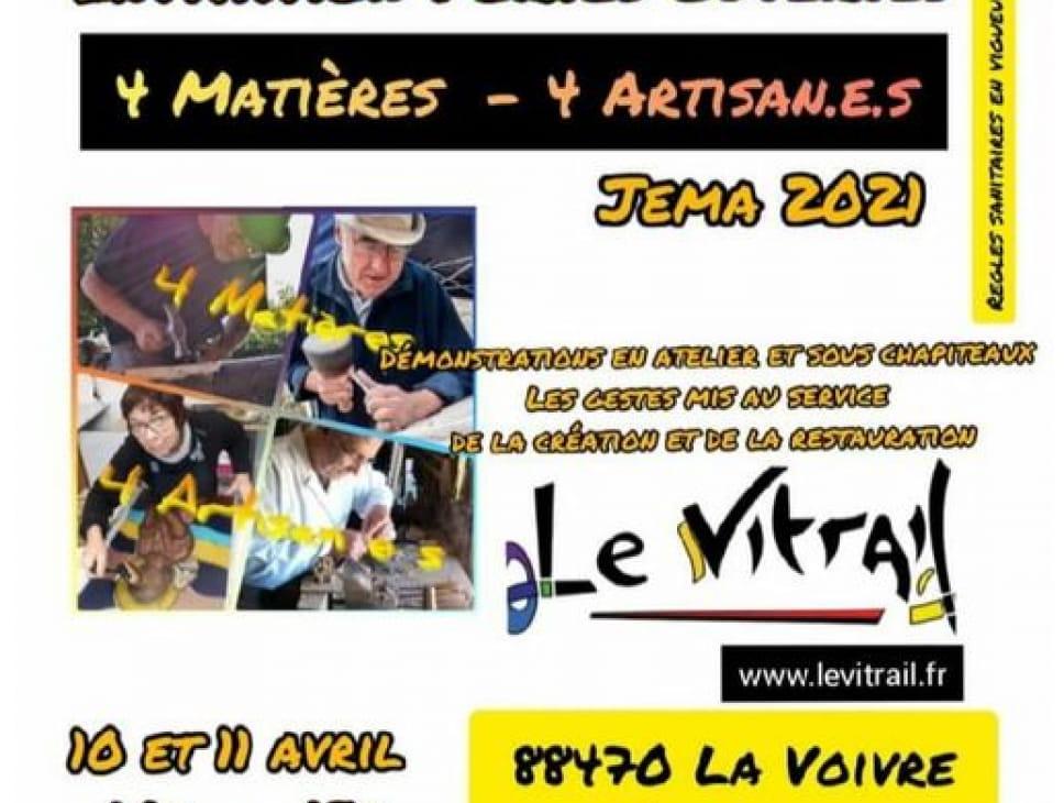 PORTES OUVERTES LE VITRAIL : ATELIER DE VITRAUX