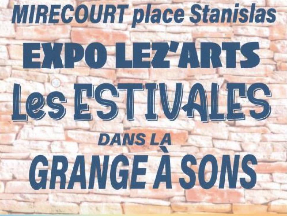 EXPOSITION LEZ'ARTS LES ESTIVALES DANS LA GRANGE À SONS