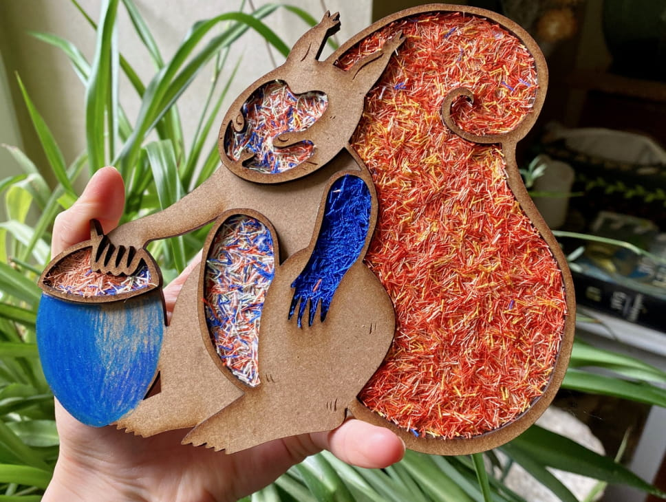 ATELIER UPCYCLING - ANIMAUX