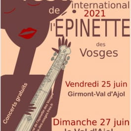 FESTIVAL INTERNATIONAL DE L'ÉPINETTE DES VOSGES