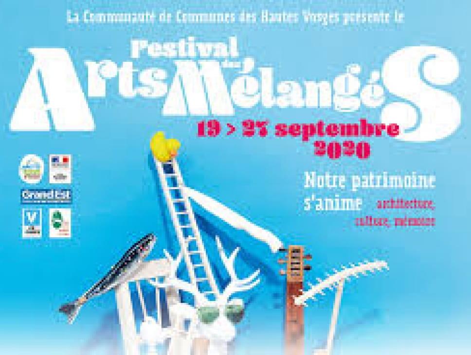 FESTIVAL DES ARTS MELANGES 2020 - ATELIER  ECRITURE
