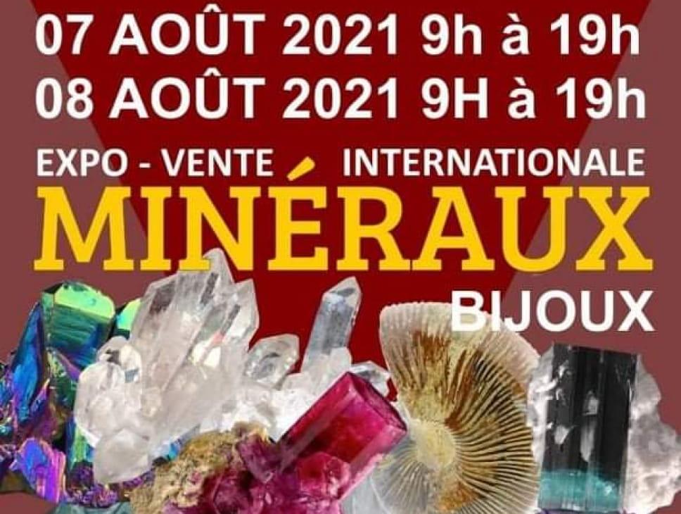 EXPO VENTE INTERNATIONALE MINÉRAUX BIJOUX
