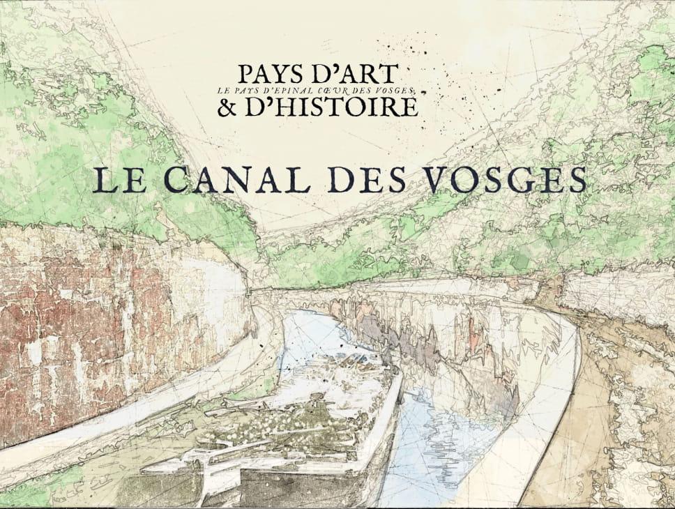 CONFÉRENCE PROJECTION SUR LE CANAL DES VOSGES