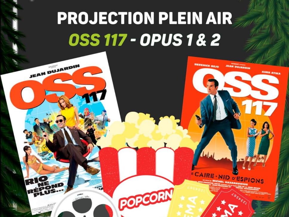 PROJECTION PLEIN AIR - OSS 117 - FILMS 1 & 2