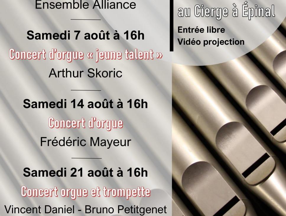 CONCERT D'ORGUE - FREDERIC MAYEUR