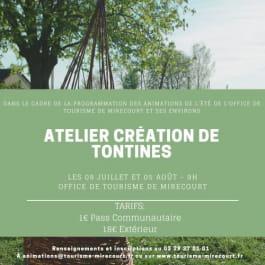 ATELIER TONTINES - TRESSAGE